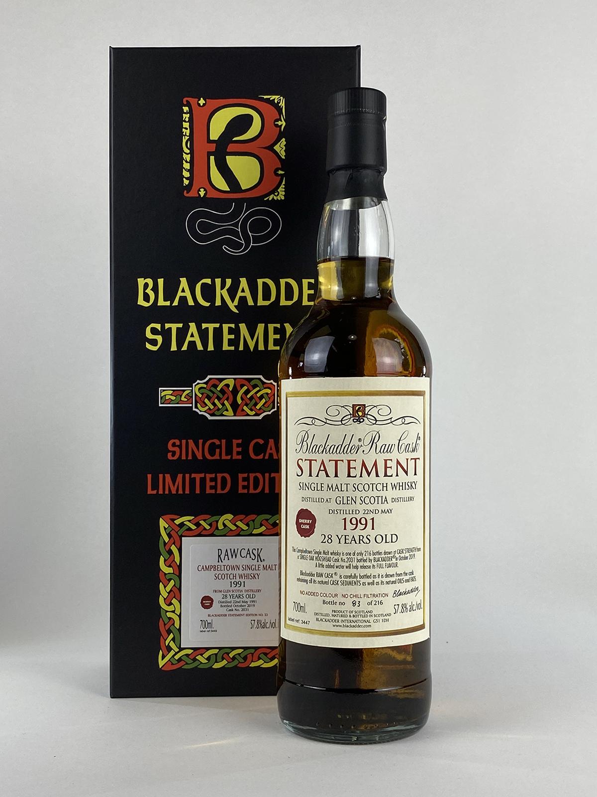 Blackadder Glen Scotia 28yo