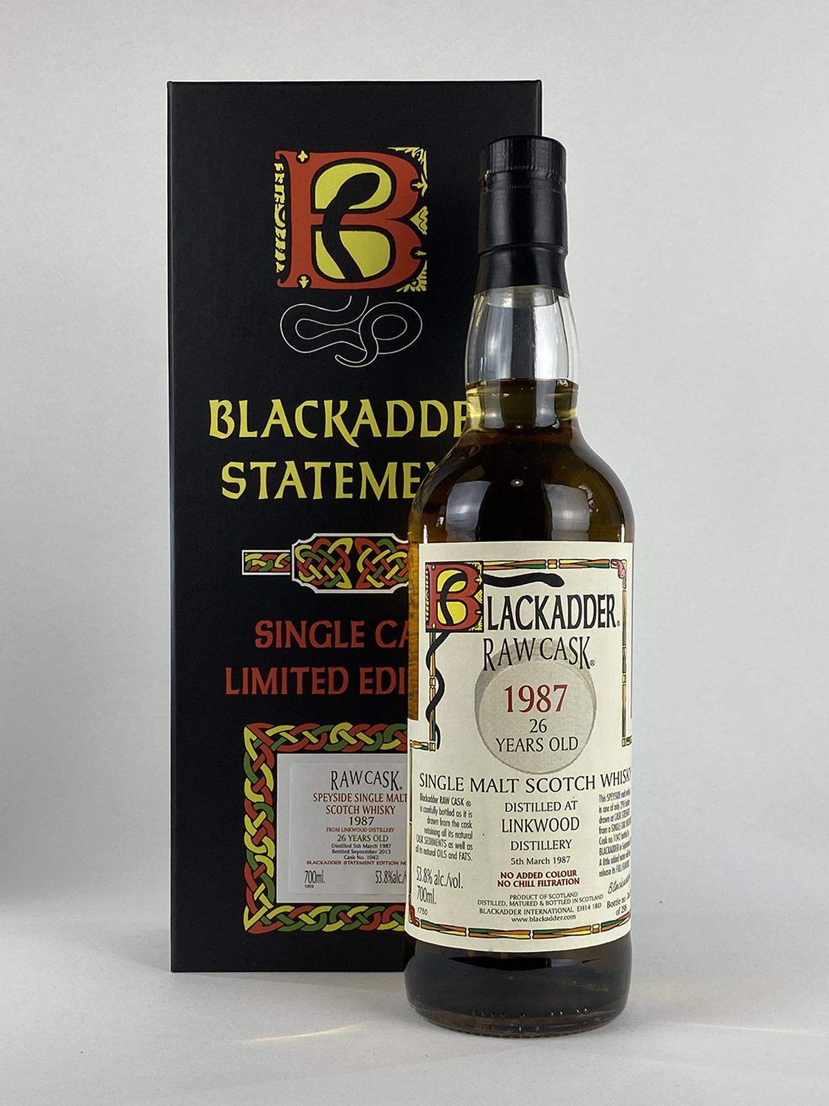 Blackadder Linkwood 26yo