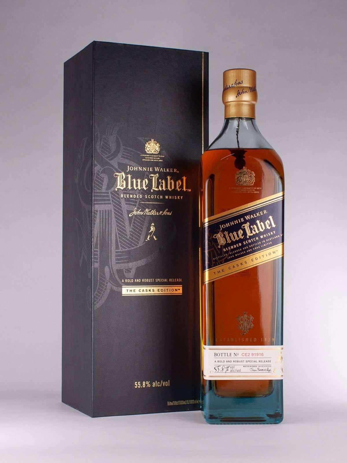 Johnnie Walker Blue Label Cask Series