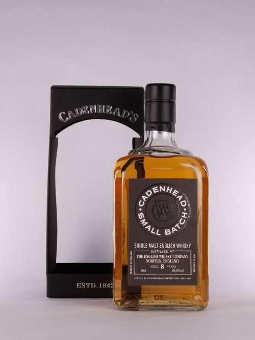 Cadenhead English Whisky 8yo