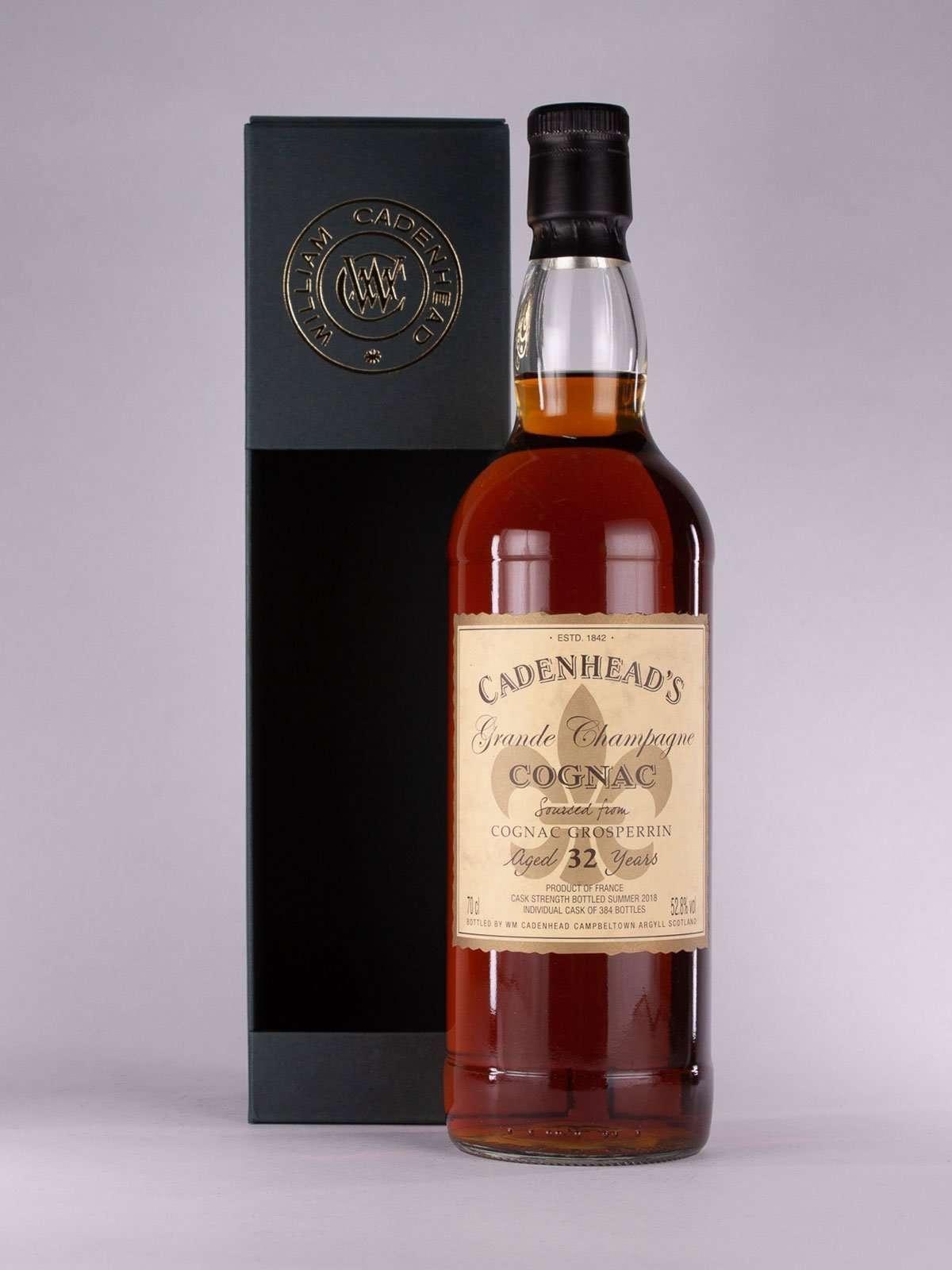 Cadenhead Grosperrin Cognac 32yo