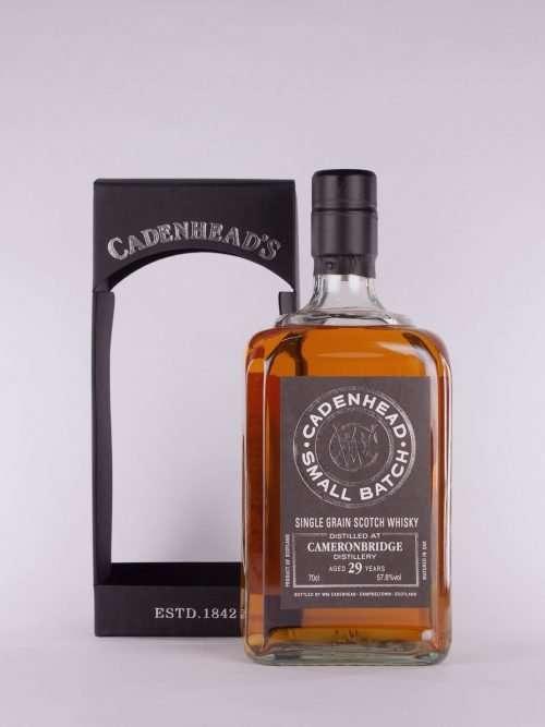 Cadenhead Cameronbridge 29yo