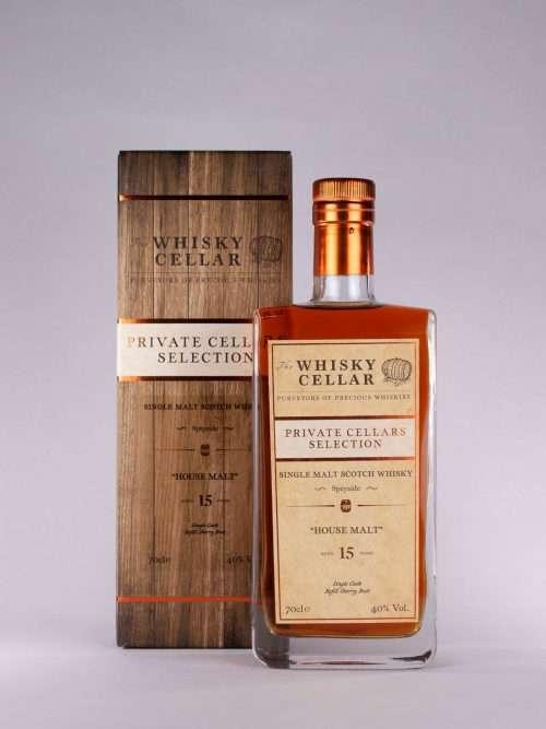 Whisky Cellar House Malt 15yo