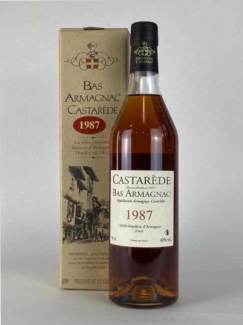 Casterade Bas Armagnac 1987
